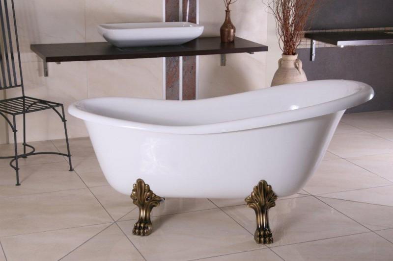 Retro badewanne freistehend