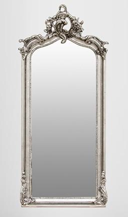 Casa padrino barock spiegel silber 115 x 48 cm spiegel - Barock wandspiegel silber ...