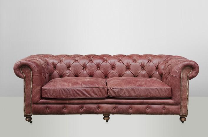 chesterfield luxus echt leder sofa 2 5 seater vintage leder von casa padrino galata red sofas. Black Bedroom Furniture Sets. Home Design Ideas