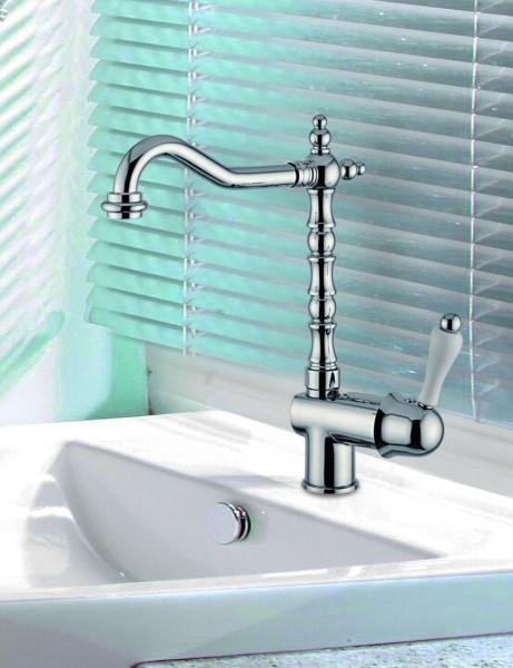 luxus bad zubeh r jugendstil retro waschbecken armatur waschtisch einhand waschtischbatterie. Black Bedroom Furniture Sets. Home Design Ideas